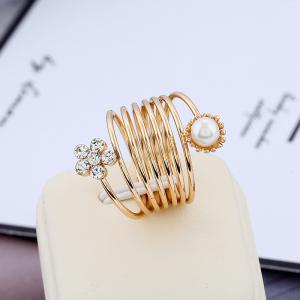 Fashionable Temperament Does Not Fade A Spring Ring -