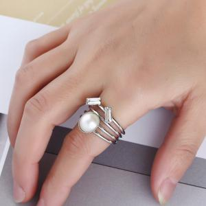 Stylish Multi-layered Personality Ring -