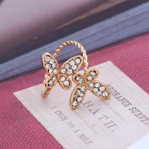 New and Simple Butterfly Open Index Finger Ring -