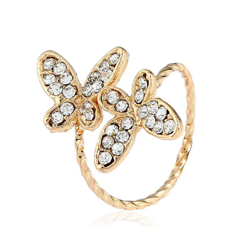 Latest New and Simple Butterfly Open Index Finger Ring