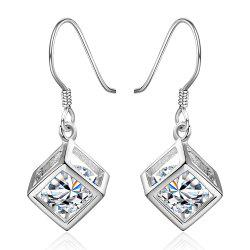 Zircon Graceful Drop Earrings Charm Jewelry Gift For Women -