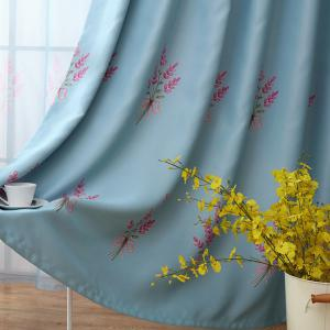 Home Garden Small Fresh Printed Curtains -