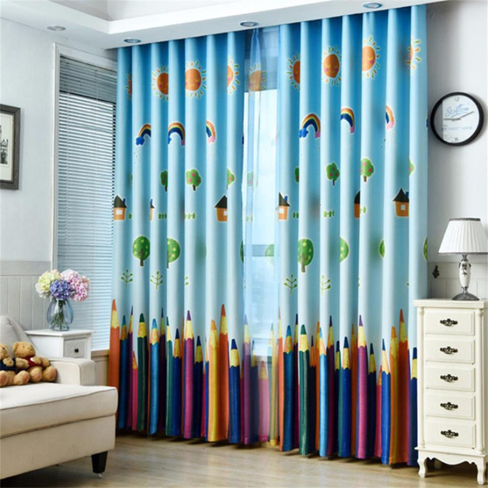Fancy Modern Minimalist Home Decor Pencil Curtains