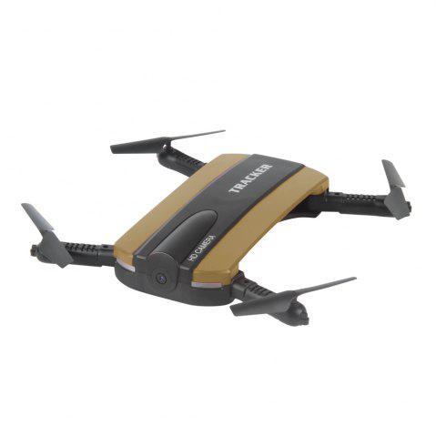 Shop TKKJ 523 Tracker Foldable Mini Selfie Drone with Camera  Altitude Holding FPV  WiFi Phone Control RC Helicopter Toy