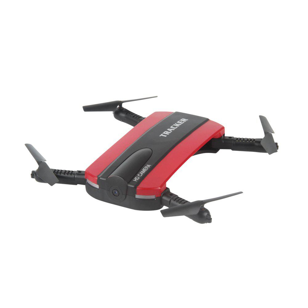 Unique TKKJ 523 Tracker Foldable Mini Selfie Drone with Camera  Altitude Holding FPV  WiFi Phone Control RC Helicopter Toy