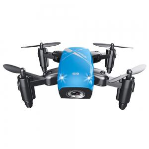 Cloudrover S9HW Foldable Transformable RC Mini Drone with HD Camera Altitude Hold Toys for Children as Christmas Gift -