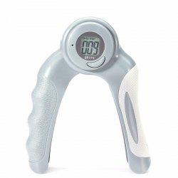 Digital Hand Grip Strengthener With Counter Count Timer And Calorie Modes Gripper Exerciser -