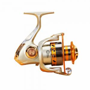 5.2/1Gear Ratio Saltwater/Freshwater Metal Fishing Spinning Reel -