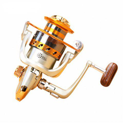 Discount 5.2/1Gear Ratio Saltwater/Freshwater Metal Fishing Spinning Reel