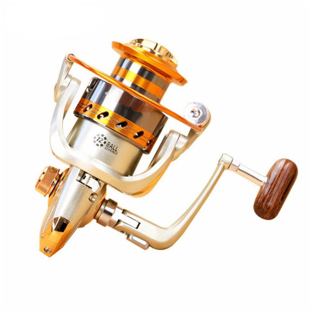 Hot 5.2/1Gear Ratio Saltwater/Freshwater Metal Fishing Spinning Reel