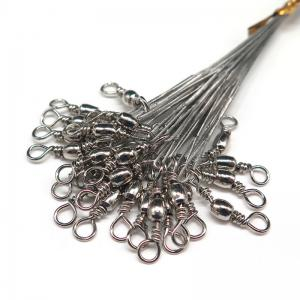 Fishing Lead Line Leader Wire Stainless Steel Rolling Swivels -