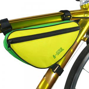 B-SOUL 1.5L Bicycle Front Tube Triangle Bag -