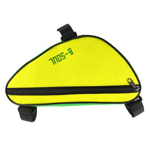 Shop B-SOUL 1.5L Bicycle Front Tube Triangle Bag