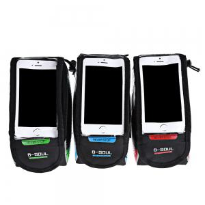 B-SOUL Bicycle Mount for 5.7 Inches Handlebar Phone Bag -