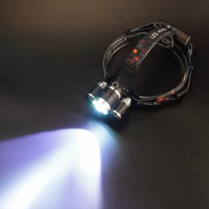 U'King XML-T6 + 2xR5 3 LED 2000LM 4Modes Multifunction Headlamp Bicycle Light -