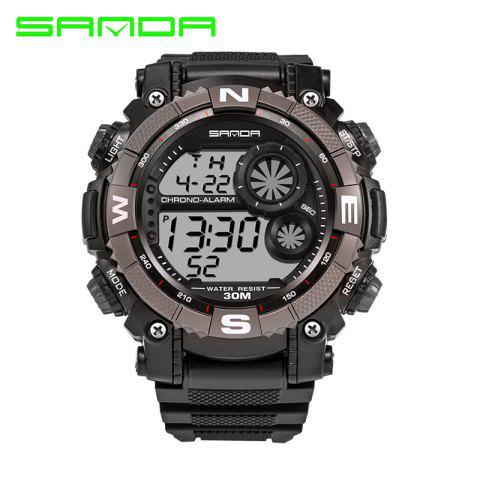 Chic Sanda 323 5304 Sports Multifunctional Men Watch