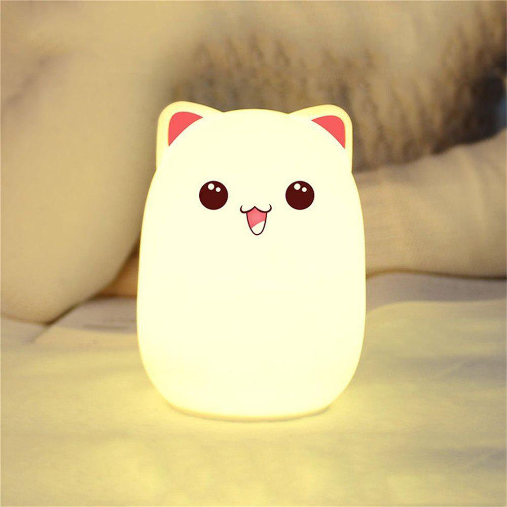 Multicolore Lampe Usb Veilleuse Bourgeon Doux Ywxlight Ours Silicone Rechargeable En bv7IYfg6y