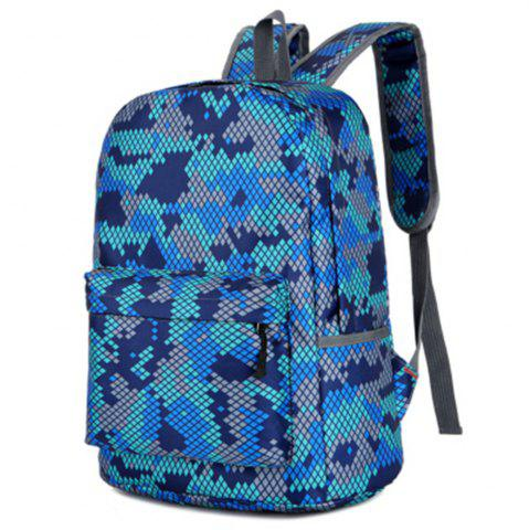 Buy Camouflage Backpack 1052 Nylon Mesh Cloth