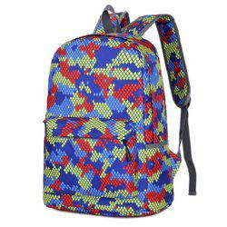 Camouflage Backpack 1052 Nylon Mesh Cloth -