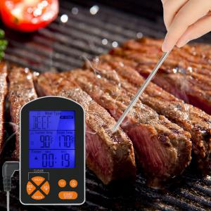 Waterproof Dual Probe Meat Thermometer Instant Quick Read Kitchen Digital Electric Cooking Food Thermometers -
