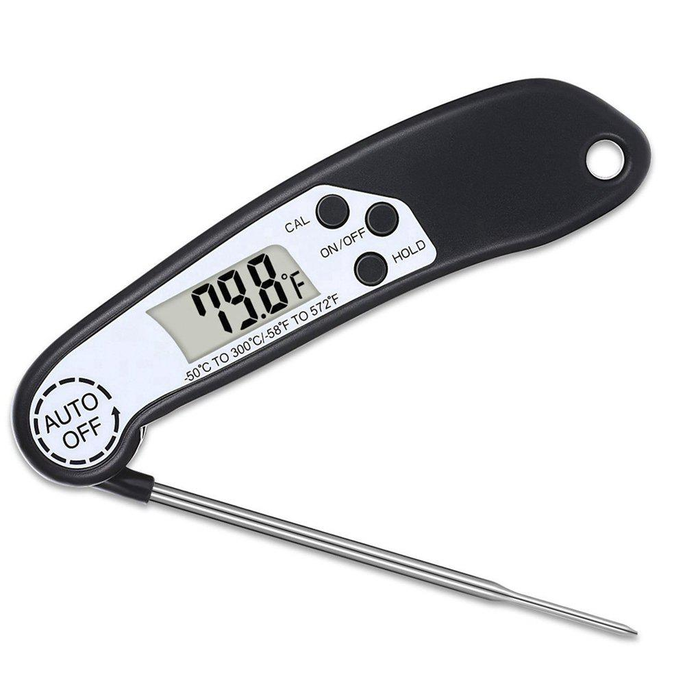 Discount Digital Meat Thermometer Instant Fast Read For Grilling Cooking Food BBQ or Candy Thermometers