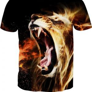 Digital Printing Short-Sleeved T-Shirt -