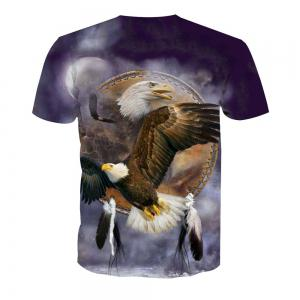 Eagle Printing Short-Sleeved T-Shirt -