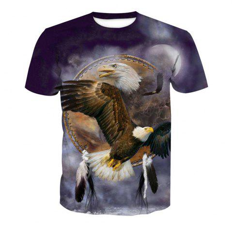 Buy Eagle Printing Short-Sleeved T-Shirt