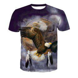 Eagle Impression T-shirt à manches courtes -