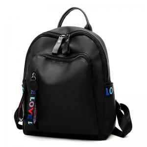 Oxford Cloth Pure Color Backpack -
