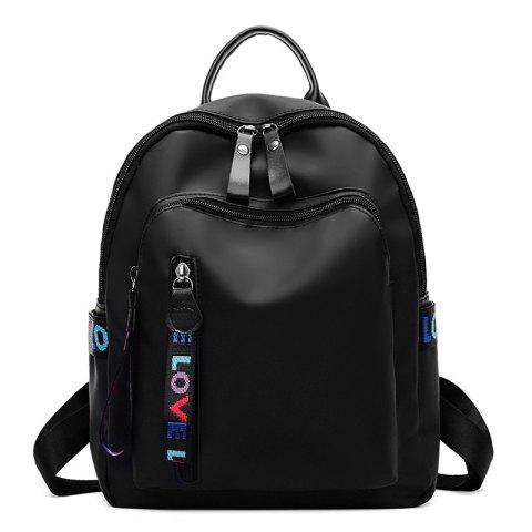 New Oxford Cloth Pure Color Backpack