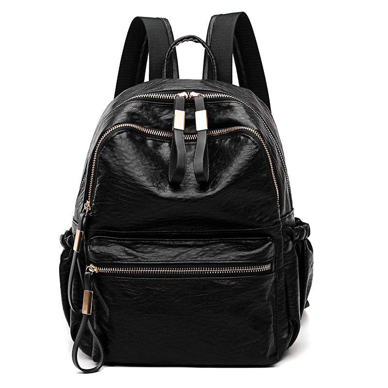 Latest Backpack Good Match Fashion New Style Package Cover Type PU