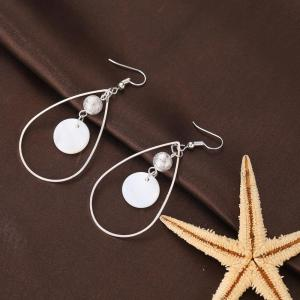 Fashion Simple Shell Earrings -