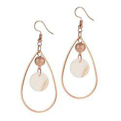 Boucles d'Oreilles Simple Shell Fashion -