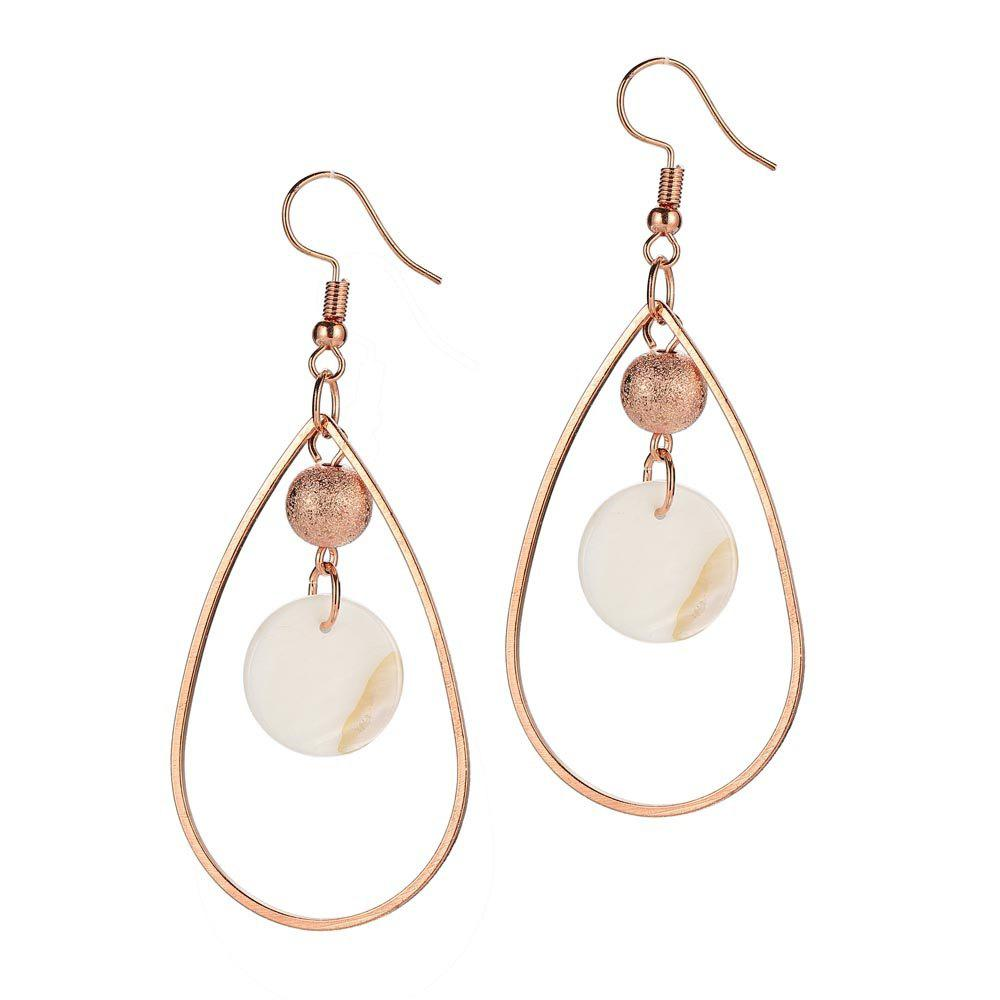 Outfits Fashion Simple Shell Earrings