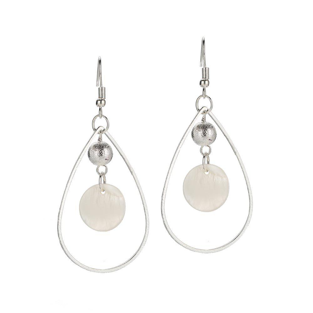 Boucles d'Oreilles Simple Shell Fashion