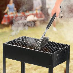 Stainless Steel Barbecue Grills Cleaning Brushes -