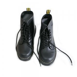 Women Fashion Casual Lace-up Leather Boots -