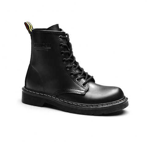 Sale Women Fashion Casual Lace-up Leather Boots