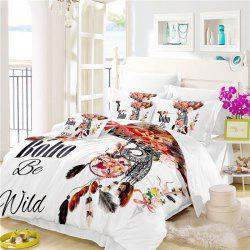 Bohemia 3D Series of Angry Birds Feathery Bedding Three Pieces Four Pieces Set AS32 -