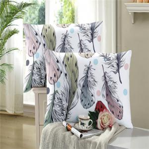 Bohemia 3D Series of Colorful Feather Bedding Three Piece Four Piece AS35 -