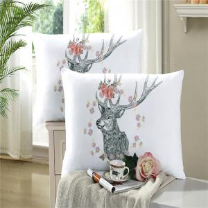 Bohemia 3D series of landscape ink painting Mountain Deer bedding three piece four piece set AS40 -