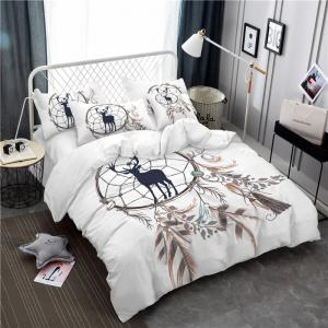 Bohemia 3D Series of Landscape Ink Painting Mountain Deer Bedding Three Piece Four Piece Set AS42 -