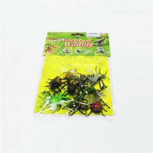 Simulation Insect Model Children Toy Spider Beetle Locusts Dragonfly Ant Scorpion Flies 12PCS -