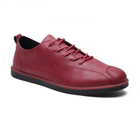 Affordable 2018 Stylish Spring Little Pu Leather Shoes