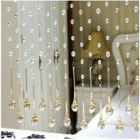 Unique 32 Cut Pearl Living Room Partition Porch Crystal Beads Curtain
