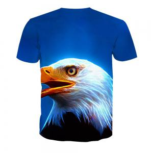 Eagle T-shirt à manches courtes impression -