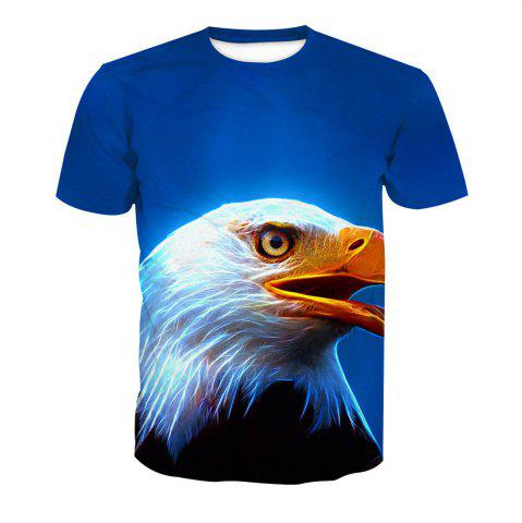 Eagle T-shirt à manches courtes impression