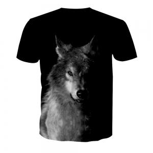 Wolf Digital Printing Short-Sleeved T-Shirt -