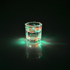 Creative LED Light Glass Capteur d'eau 7 Couleur Bright Luminous Cup -